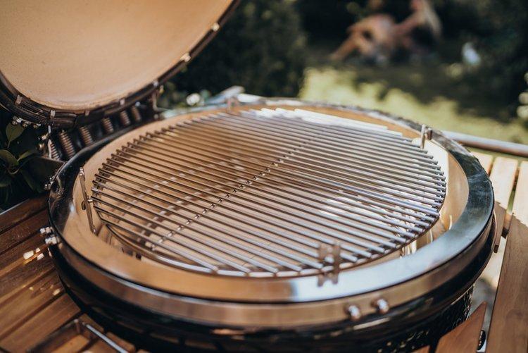 MONOLITH LeChef, czarny lub bordowy, ruszt 55cm - Grill ceramiczny
