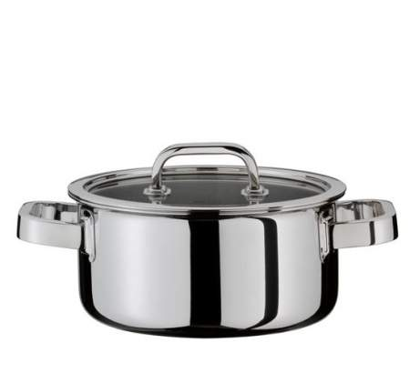 Casserole with lid 24 cm - Finesse -  Spring