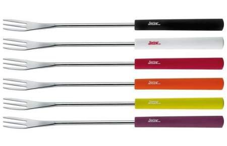Cheese fondue forks Basic 6pcs. multicolored