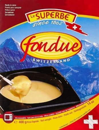 FONDUE mix ready to serve - LeSuperb 2 x 400g