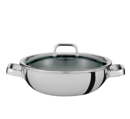 Gourmet Wok with lid 30 cm - Finesse -  Spring