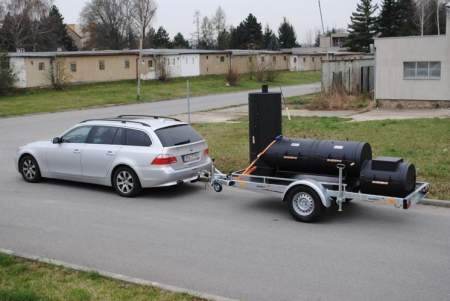 "Trailer Party Wagon 24"" - SMOKY FUN"