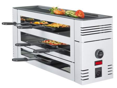 grill Pizza Raclette 6 black - SPRING